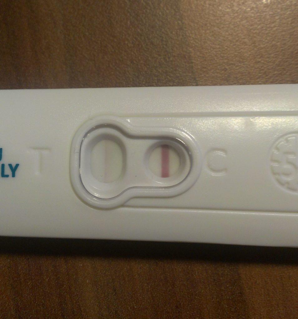 Schwangerschaftstest postitiv